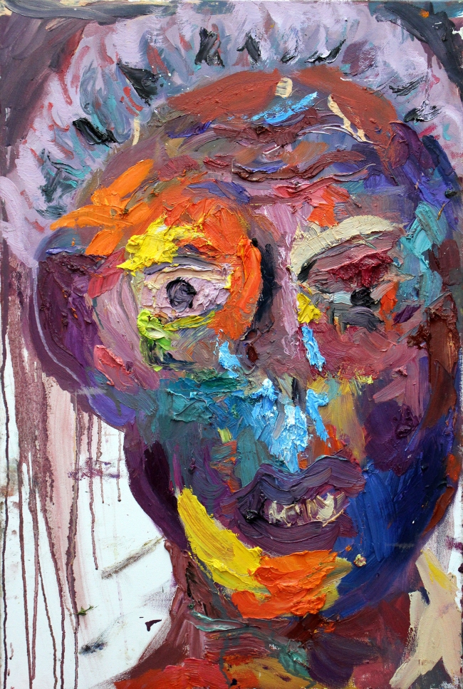 Icy Snot oil on canvas 24 x 18 inches 2013