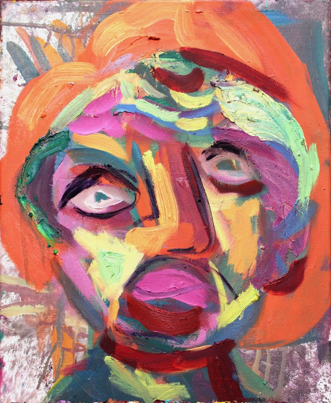 Mother One oil on canvas 16 x 12 inches 2013