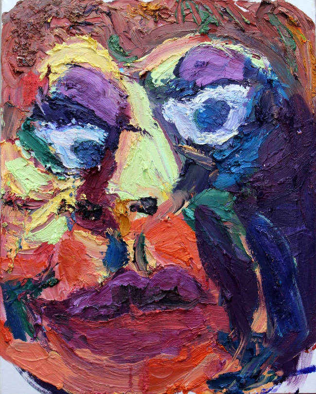 Mother Two oil on canvas 20 x 16 inches 2013