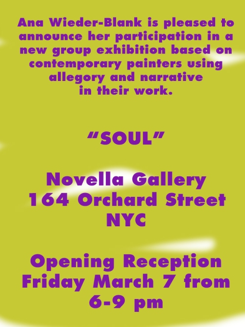 Group Show Announcement