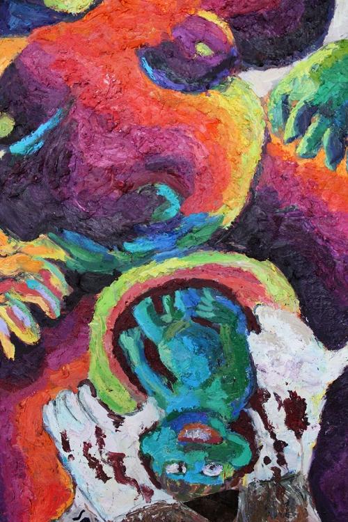 Birth of Isaac (detail)