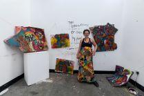 Summer Residency Art Exhibition in John Baldessari Building.